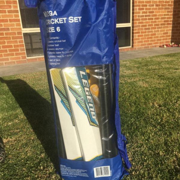 Mega Cricket Set in bag